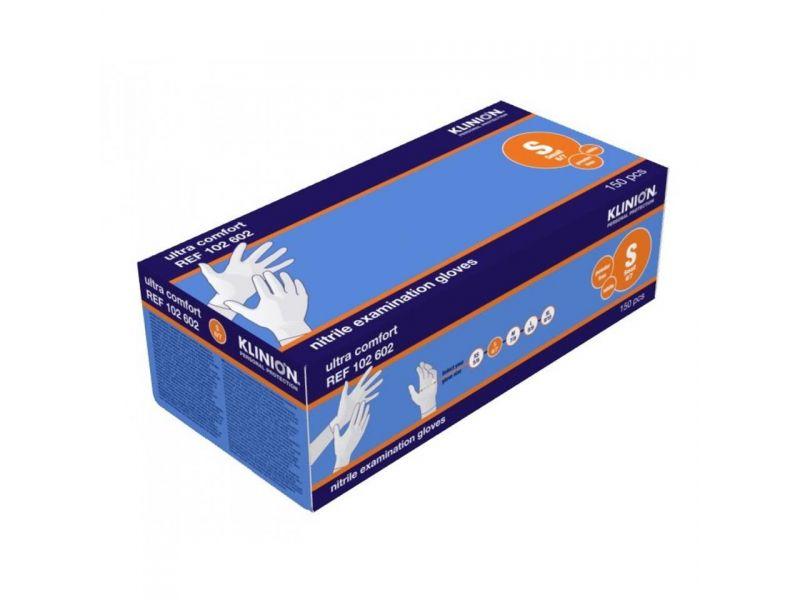 Klinion Ultra Comfort Nitrile handschoenen poedervrij Wit