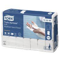 Tork Premium Soft papieren handdoek 2-laags 26x21cm H2 Xpress 3150 stuks