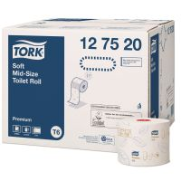 Tork toiletpapier op rol soft mid-size premium 2 laags 27 rol