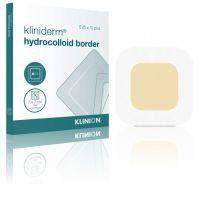 Kliniderm Hydro Border standaard hydrocolloïd wondverband 10x10cm