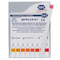 pH-Fix indicator strips 3.6 - 6.1
