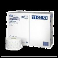 Tork Soft Mini Jumbo toiletpapier op rol Premium 2-laags T2 Wit 12 rol