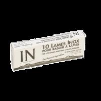 10 reserve scheermesjes voor Sibel Styling scheermes In Double