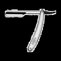 Barburys Agitator scheermes staal zilver