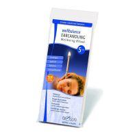 Biosun oorkaarsen Wellbalance Lavendel 10 stuks