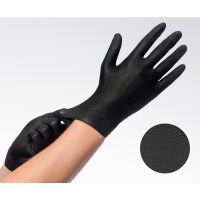 Comforties Soft Nitril Easyglide & Grip handschoenen Zwart
