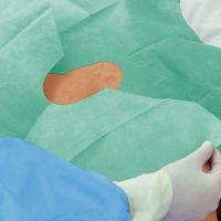 Foliodrape Protect afdeklaken met venster en kleefrand 75x90cm