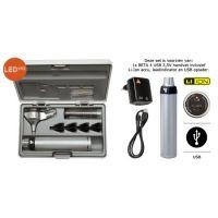 Heine Beta 200 LED fiber otoscoop set USB 3,5V