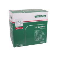 Klinion gaaskompres HG steriel 8-laags 8,5x5cm
