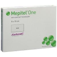 Mepitel One siliconen wondcontactlaag 8x10cm 5 stuks