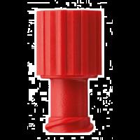 Afsluitdopjes voor injectiespuiten rood 100 stuks
