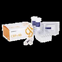 QuikRead Go CRP + Hb kit met capillairen testen