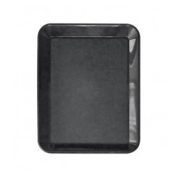 Kunststof instrumententray 270x210x25mm zwart