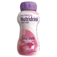 Nutridrink Juice Style drinkvoeding Aardbei 4x200ml
