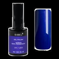 Sibel gel nagellak N°28 Sea Blue 14ml