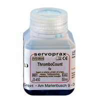 Thrombo Count Fix Plaxan reagens blauw 100ml