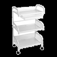Werktafel Viola met 3 etages verrijdbaar