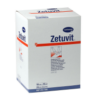 Zetuvit absorberend kompres steriel 10x10cm