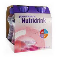 Nutridrink drinkvoeding Aardbei 4x200ml
