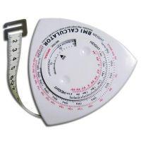 Omvangs meetlint met BMI meter