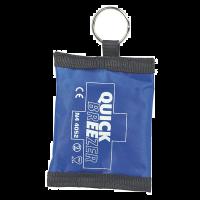 Quick-Breezer beademingsmasker sleutelhanger met etui