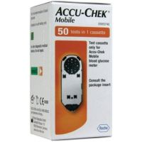 Accu-Chek Mobile testcassette 50 stuks