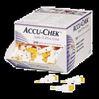 Accu-chek Safe T-Pro Uno lancet 200 stuks
