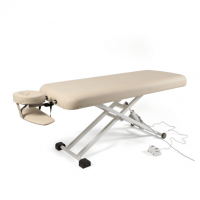 Massagebank Anna Lucia elektrisch met hoofdsteun beige