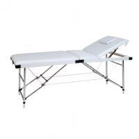 Massagebank inklapbaar wit