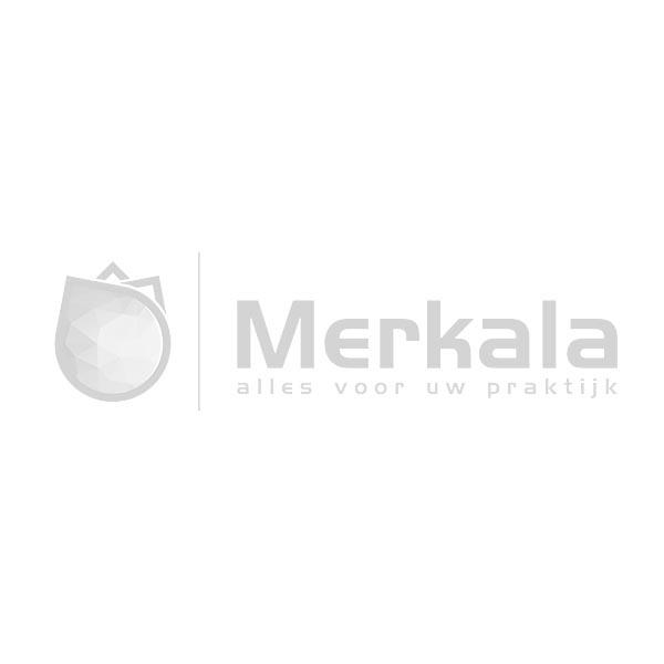 Sibel wit flesje met pomp voor nagellak remover