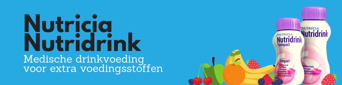 Nutricia Nutridrink: medische drinkvoeding voor extra voedingsstoffen